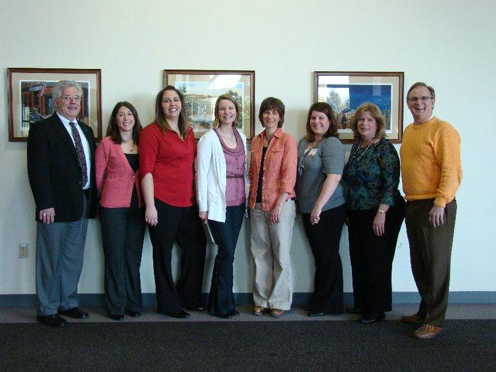 2011 Scholarship Recipients with President Drew Matonak